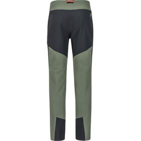 Marmot Pillar - Pantalones Hombre - negro/Oliva